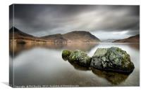 Stone Monster of Crummock Water, Canvas Print