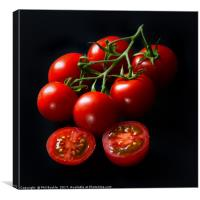 Vine Tomatoes, Canvas Print