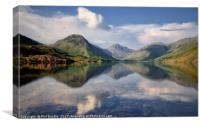 Great Gable View Wastwater, Canvas Print