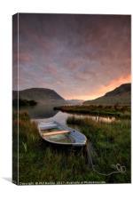 Crummock Water Sunrise, Canvas Print
