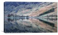 Buttermere Bothy Reflections, Canvas Print