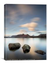 Isthmus Bay Three Rocks, Canvas Print