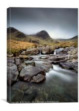 Deepdale lower Waterfall, Canvas Print