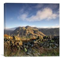 Side Pike First Light, Canvas Print