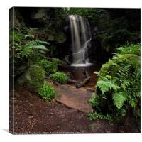 Roughting Linn Waterfall, Canvas Print