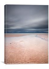 Sand Beach Applecross, Canvas Print