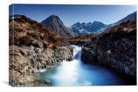 Fairy Pools, Isle of Skye. No.2, Canvas Print