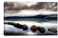 Loch Morlich No.4 (3x2 ratio), Canvas Print