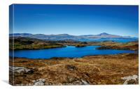 Isle of Skye and The Storr from The Isle of Raasay, Canvas Print