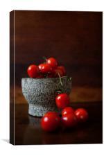 Tasty Tomatoes, Canvas Print
