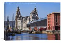 Liverpool: From Dock to Pier, Canvas Print
