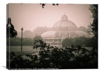 At the Victorian-Era Palm House, in Sefton Park, Canvas Print