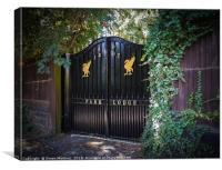 Park Lodge, Liverpool (UK), Canvas Print