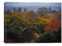 An Autumn Landscape, Canvas Print