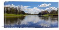 Sefton Park Lake, Liverpool, Canvas Print