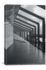 Liverpool One Walkway, Canvas Print