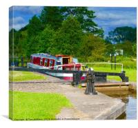 Fradley Junction , Canvas Print