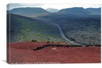 Lanzarote landscape                               , Canvas Print
