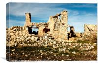 Ruins, Andalusia, Spain, Canvas Print