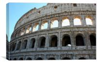 Amazing Coloseum in Rome Italy, Canvas Print