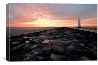 New Brighton on The Wirral, Canvas Print