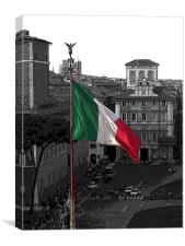 Italian Spirit, Canvas Print