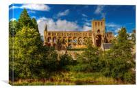 Jedburgh Abbey, Canvas Print