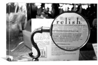 Relish , Canvas Print