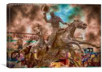 The Calgary Stampede Canada, Canvas Print