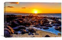 Beautiful Sunrise, Canvas Print