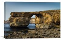 The Azure Window, Malta, Canvas Print
