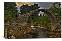 Carr Bridge, Canvas Print