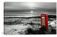 The Red Phone Box, Canvas Print