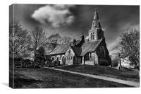 HOLY TRINITY CHURCH, EDALE 2011, Canvas Print