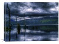 Loch Rannoch Reflections, Canvas Print