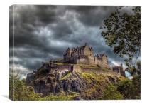 Edinburgh Castle Scotland, Canvas Print