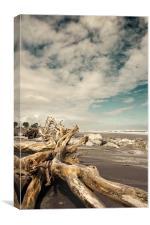 Hokitika Beach, Canvas Print
