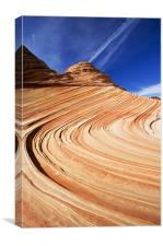 Sandstone Swirl , Canvas Print