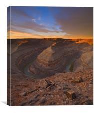 Desert Dawn, Canvas Print