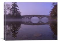 Bridge over River Tay, Canvas Print