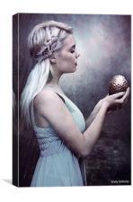 Daenerys Targaryen, Canvas Print
