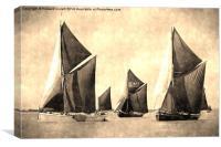 Niagara, Edme and Edith May , Canvas Print