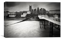 A Winters Day - Cromer, Canvas Print