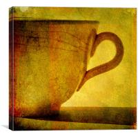 I would love a cup of tea ....., Canvas Print