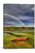 Rainbow View, Canvas Print