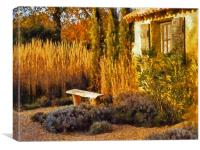 Le Jardin de Vincent 2, Canvas Print