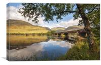 Railway Viaduct Over River Orchy, Canvas Print
