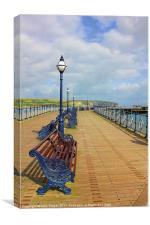 Swanage Pier, Canvas Print