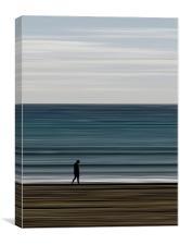 water's edge, Canvas Print