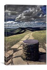 Lose Hill View, Canvas Print